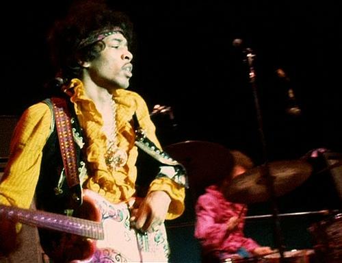 Jimi Hendrix with Monterey Strat
