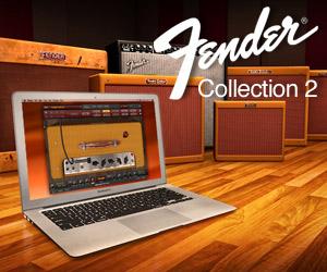 IK Multimedia's Fender Collection 2